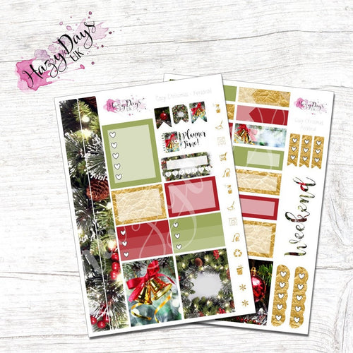 Cozy Christmas - Personal Planner Sticker Kit