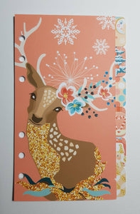 Christmas Deer - Planner Dividers