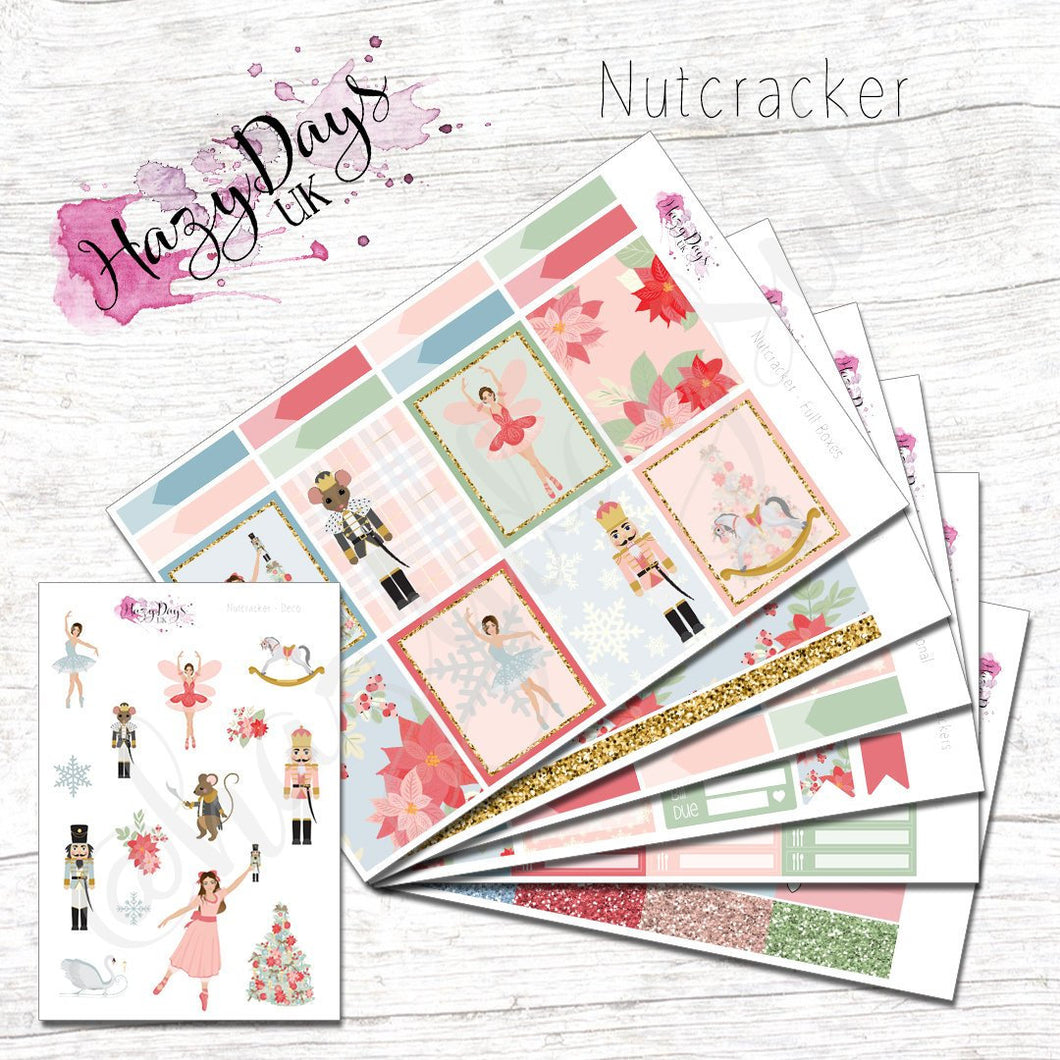 Nutcracker - Weekly ECLP Sticker Kit