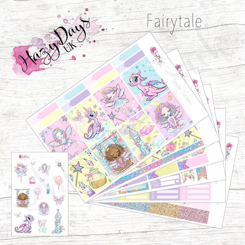 Fairytale - Weekly Sticker Kit