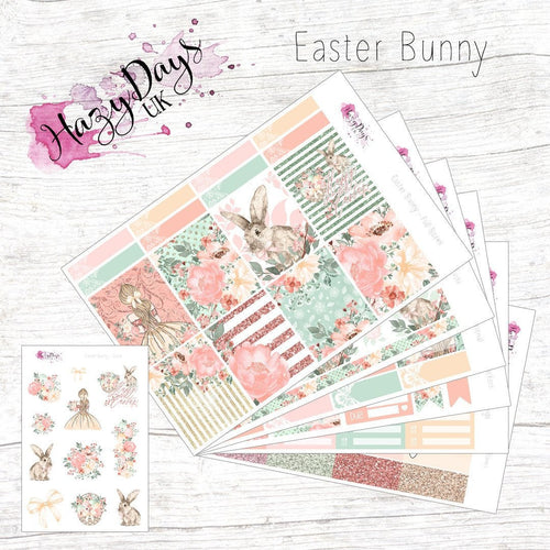 Easter Bunny - Weekly Sticker Kit