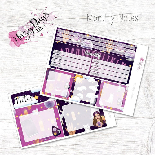 Fortune Teller - Monthly Notes Kit