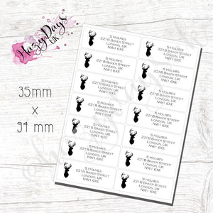 Stag Return Address Labels