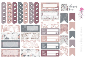 Planner Girl - Planner Sticker Kit, Weekly Stickers Kit for ECLP, Happy Planner, Personal Planner, TN etc