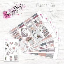 Load image into Gallery viewer, Planner Girl - Planner Sticker Kit, Weekly Stickers Kit for ECLP, Happy Planner, Personal Planner, TN etc