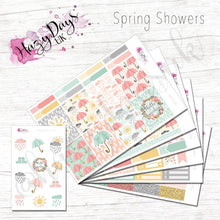 Load image into Gallery viewer, Spring Showers - Weekly ECLP Sticker Kit