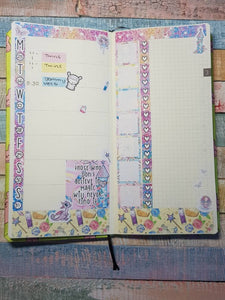 Winter Fairytale - Weekly Hobonichi Weeks Sticker Kit