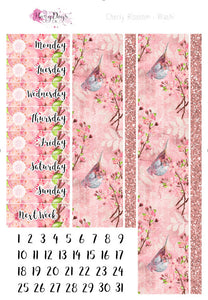 Cherry Blossom - Weekly Sticker Kit