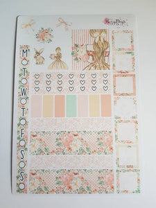 Easter Bunny - Weekly Hobonichi Weeks Sticker Kit