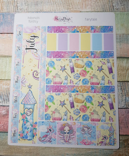 Fairytale - Monthly Hobonichi Weeks Sticker Kit