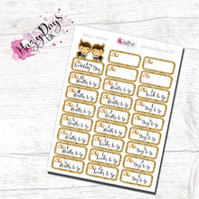 Load image into Gallery viewer, Wedding Countdown Planner Stickers