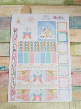 Load image into Gallery viewer, Winter Fairytale - Weekly Hobonichi Weeks Sticker Kit