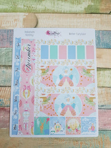 Winter Fairytale - Monthly Hobonichi Weeks Sticker Kit