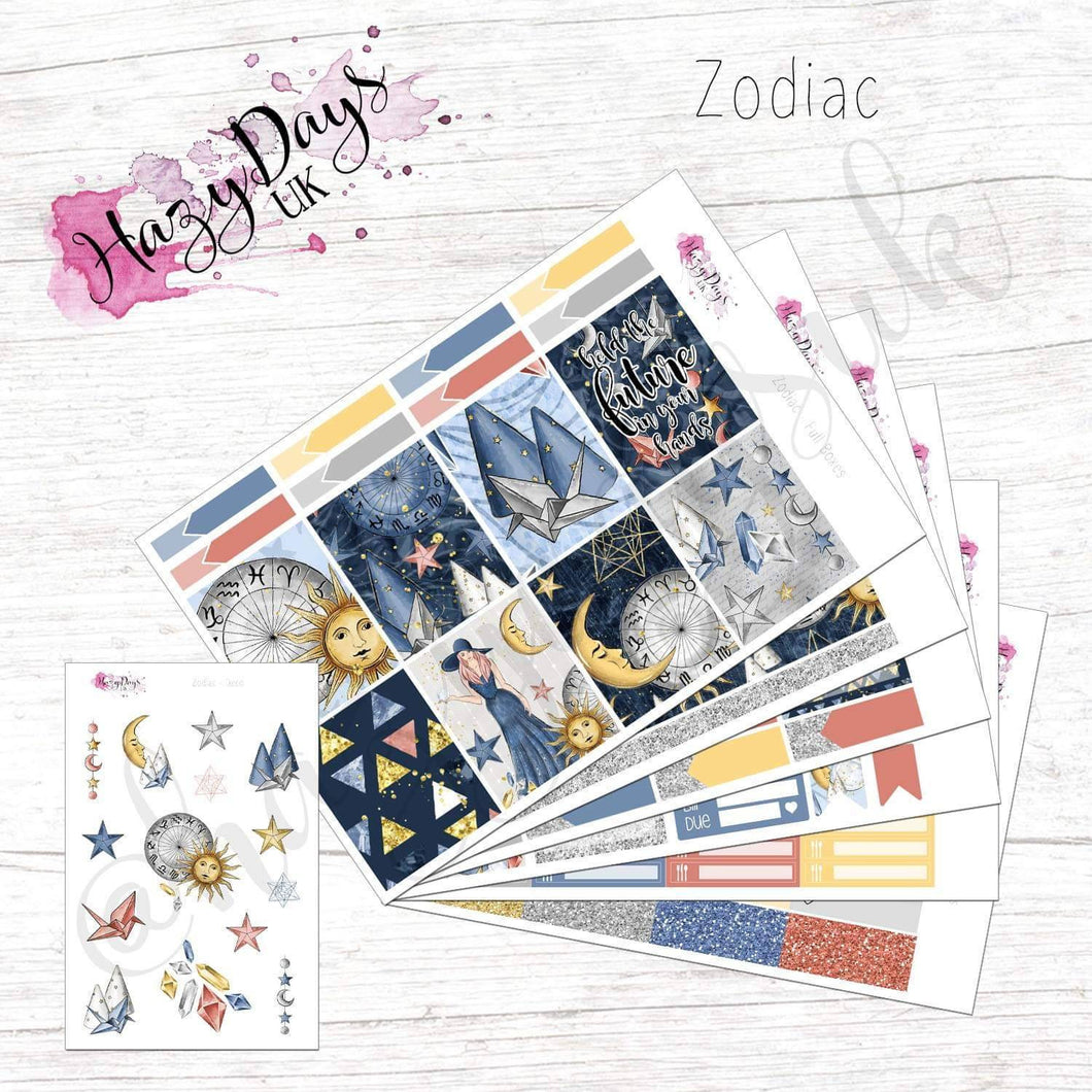 Zodiac - Weekly ECLP Sticker Kit