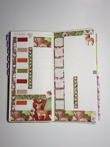 Lumberjack - Weekly Hobonichi Weeks Sticker Kit
