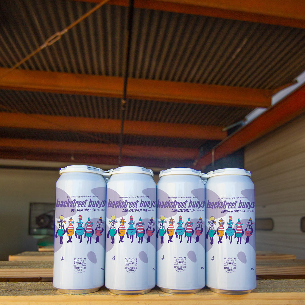 Backstreet Buoys - DDH West Coast IPA (4-pack of 16oz cans)