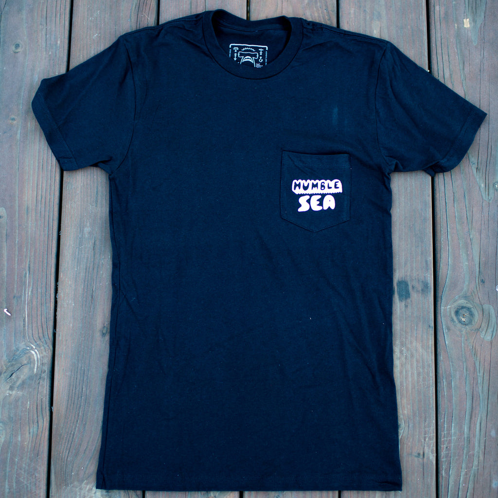 Black Goo Logo Pocket Tee