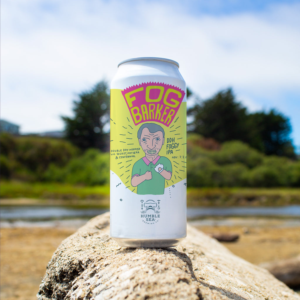 Fog Barker - DDH Foggy IPA (4-pack of 16 oz cans)