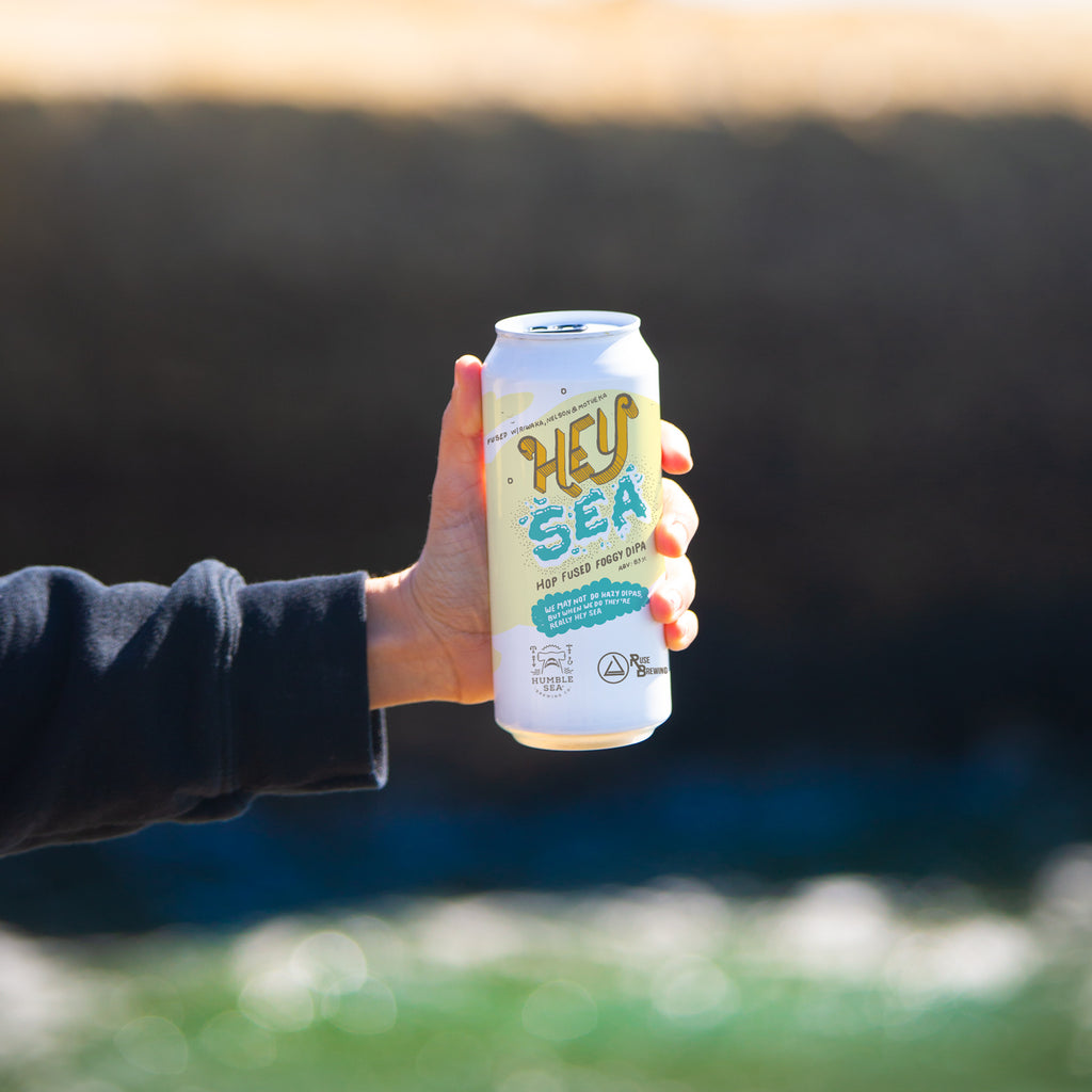 Hey Sea - Hop Fused Foggy DIPA Collab w/Ruse Brewing (4-pack of 16 oz cans)