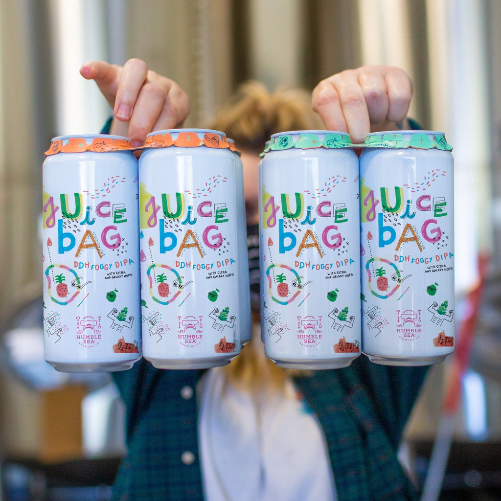 Juice Bag - DDH Foggy DIPA (4-pack of 16 oz cans)