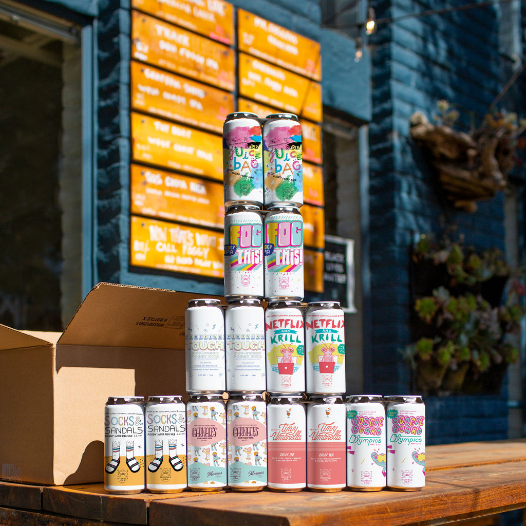 The Hop Box - 32 cans (16 oz) Monthly Humble Sea Beer Subscription