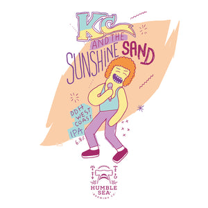 KC and the Sunshine Sand - DDH West Coast IPA (4-pack of 16 oz cans)