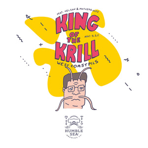 King of the Krill - West Coast Pils (4-pack of 16 oz cans)