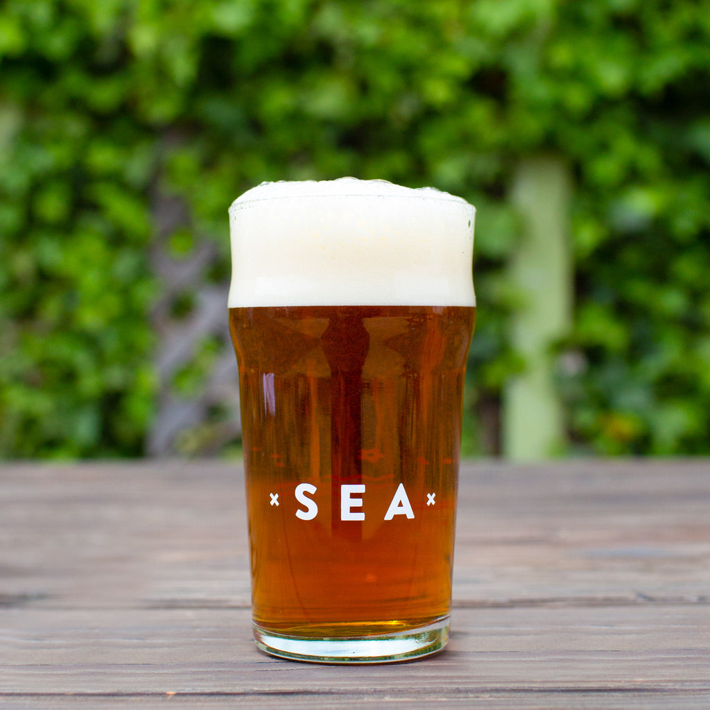 (16oz) Humble Sea Branded Pint Glass
