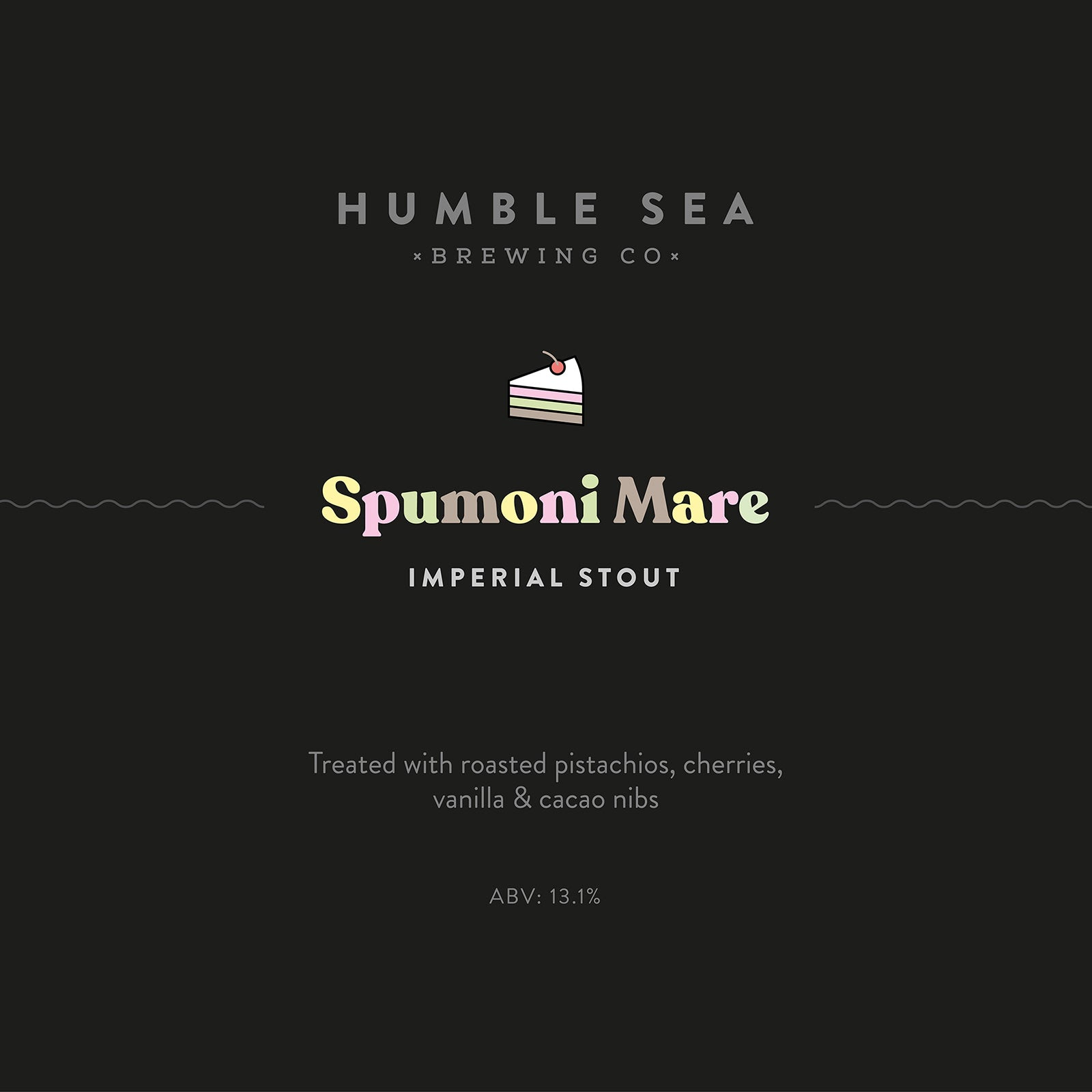 Spumoni Mare - Imperial Stout (one 550 ml bottle)