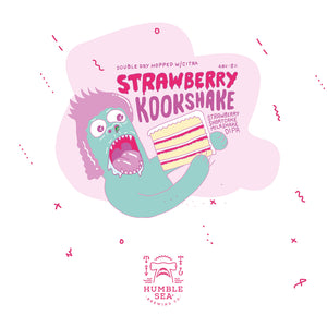 Strawberry Kookshake - Strawberry Shortcake Milkshake DIPA (4-pack of 16 oz cans)