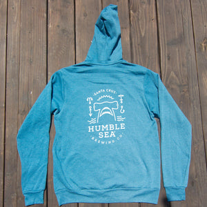 Heather Deep Teal hoodie