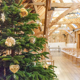 Xmas tree christmas weddings  @elloirevents