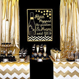 black and gold decorations hire events @elloirevents