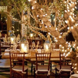 lights around trees for events hire @elloirevents
