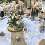 small rustic floral wedding decorations @elloirevents