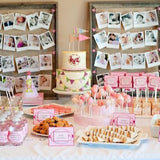 photo display at events decorations hire @elloirevents