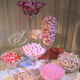 sweetie table vase decorations events hire @elloirevents