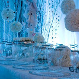 ice blue winter wonderland wedding @elloirevents