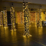 warm white lights for events hire @elloirevents