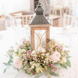 old rustic wooden lanterns @elloirevents