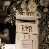 Rustic wedding postbox @elloirevents