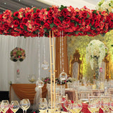 Red Halo Tree Table Decorations @elloirevents