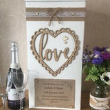 Rustic postbox for events hire @elloirevents