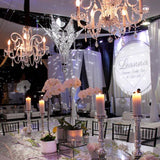 silver diamond luxury presitge decor for events hire @elloirevents