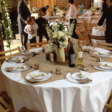 White Table cover for hire @elloirevents