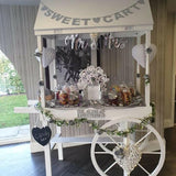 wedding sweetie candy cart hire @elloirevents