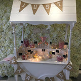 candy cart for wedding hire near me @elloirevents