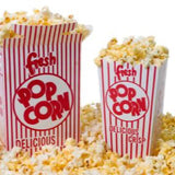 affordable pop corn buckets and bags for events @elloirevents