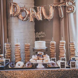 Donut table for weddings, party, events hire @elloirevents