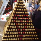 lindor & ferrero rocher chocolate stands available for party hire @elloirevents